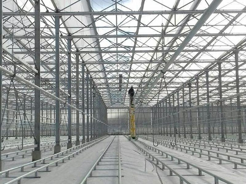 Blackout/Light Deprivation Greenhouse – Multi-span Venlo Version
